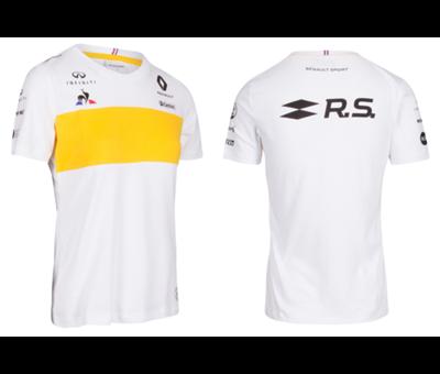 T Shirt Blanc Femme F1