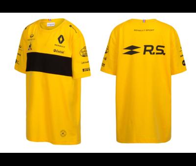 T Shirt Enfant Jaune F1
