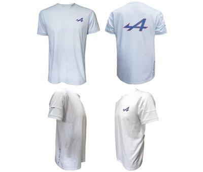 T Shirt Blanc Alpine
