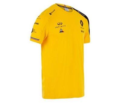 T Shirt Jaune Homme F1