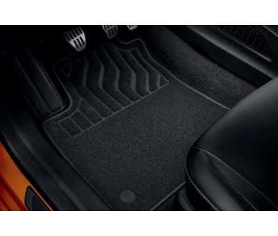 Tapis de sol textile Premium - Jeu de 4 - Direction à gauche