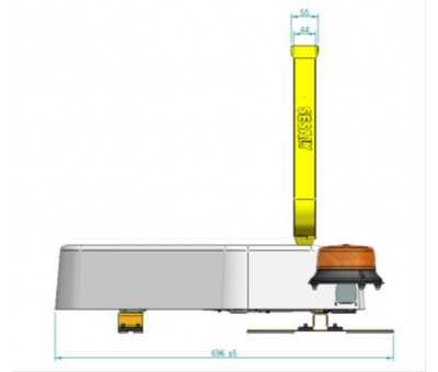Kit Triflash LED électrique adhésif SESALY