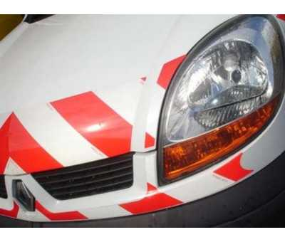 Stickers sécurité pour véhicule de société