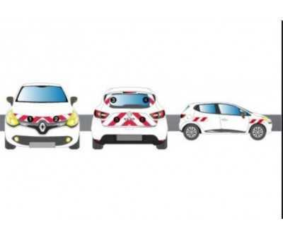 Stickers de sécurité pour véhicule de société - Classe B