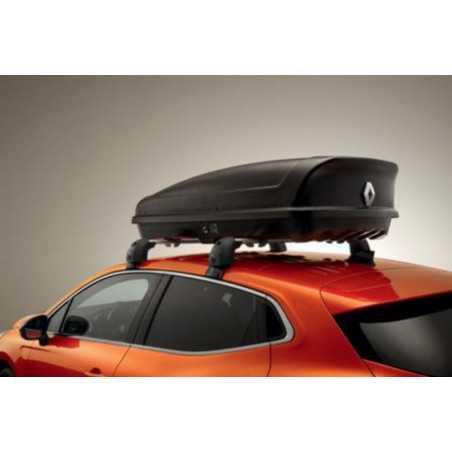 Coffre de toit rigide Renault - 380l - Noir mat
