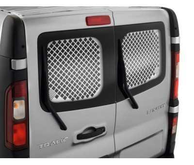 Grille de protection vitre - Portes battantes - Arrière